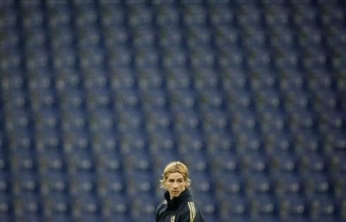 Soccer Euro 2008 Training Spain